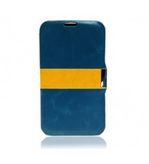 Free Samsung Galaxy Note 2 Phone Cover Blue with Yellow Worth €14,95